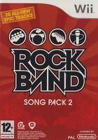 JUEGO WII ROCKBAND Rock Band Song Embalar 2 II NUEVO