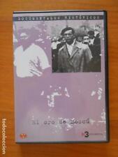 DVD EL ORO DE MOSCU - DOCUMENTALES HISTORICOS 8 (5P)