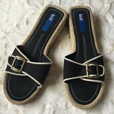 Keds Women's Espadrille Sandals Navy Blue US Size 8.5