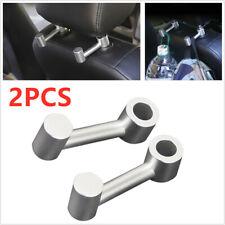 Adjustable Car Seat Back alloy Hook Hanger Headrest Holder Organizer Bag Pouch