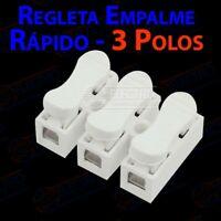 Regleta Empalme Rapido 3 polos 5A 250v - Lote 1 unidad - Arduino Electronica DIY