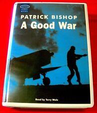 Patrick Bishop A Good War 8-Tape UNABR.Audio Terry Wale Second World War II