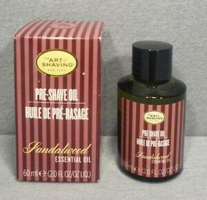 The Art of Shaving Pre-Shave Oil Sandalwood 2 Oz. New