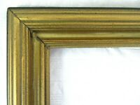 "ANTIQUE FITS 11.5"" X17.87"" GOLD PICTURE FRAME WOOD FINE ART COUNTRY GESSO ORNATE"