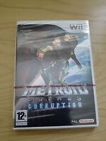Nintendo Wii - Metroid Prime 3 : Corruption U.K. PAL. NINTENDO RED STRIP SEALED