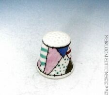 PATCHWORK THIMBLE HAND PAINTED