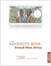 French West Africa chapter from best catalog of world notes, The Banknote Book