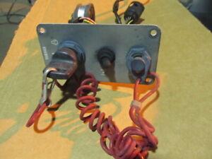 OEM Yamaha Outboard Single Engine Switch Panel  2 & 4 strokes