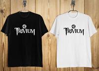 Trivium Logo Men's T-Shirt Black White S-2XL