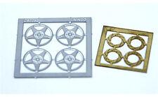 NINCO 80725 Set 4 cerchioni + 4 dischi freno in fotoincisione scala 1/32