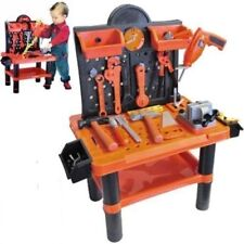 CREATIVE 52/54 TOOL BENCH PLAY SET WORK SHOP TOOLS KIT BOYS KIDS WORKBENCH TOY