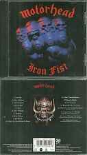 CD - MOTORHEAD : IRON FIST / HARD ROCK METAL ( COMME NEUF - LIKE NEW )