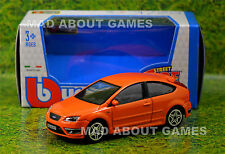 FORD FOCUS ST 1:43 Car NEW Model Diecast Models Die Cast Metal Miniature Orange