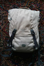 Osprey Flap Compact Backpack Desert Tan White Back Pack Small Flapjack Bag On 25