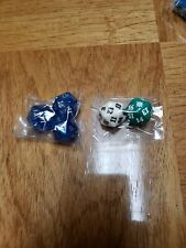 MTG Magic the Gathering ASSORTED LOT OF (5)  D20 Spindown Die Dice Unused
