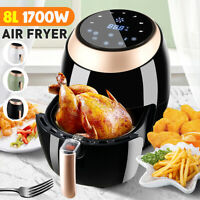 Air Fryer APP Cooker Oven Low Fat Healthy 8L 1700W Oil free Frying Litre 220V