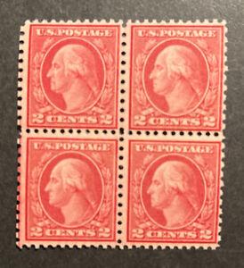 TDStamps: US Stamps Scott#540 Mint NH OG Block of 4