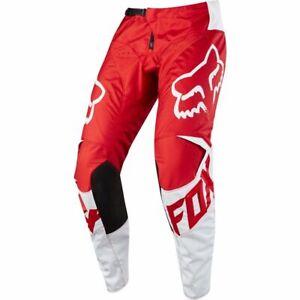 FOX RACING ADULT MOTOCROSS 180 PANTS RACE RED quad trousers