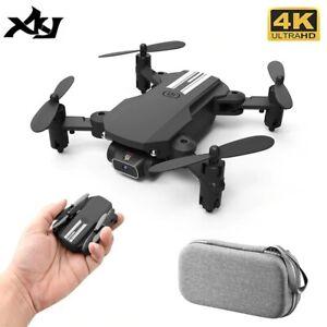 XKJ 2020 New Mini Drone 4K 480p HD Camera WiFi Fpv Air Pressure Altitude Hold