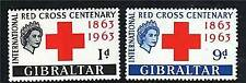 Red Cross Mint British Colony & Territory Stamps
