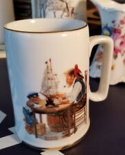 "Antique 1- 1985 ""Norman Rockwell Museum"" *4 1/2"" Tall Mug* Never Used!"