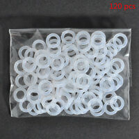 120Pcs White Rubber O-Ring Dampers Keycap Mechanical keyboard For CherryNEW