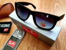 New Genuine Polarised Ray-Ban Justin Designer Sunglasses RB4165 622/T3 54mm