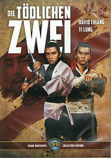 The Deadly Duo Blu Ray & DVD Film Art Shaw Brothers Kung Fu Cheh Chang