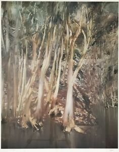 Art Photolithograph By Sidney Nolan Riverbend Series Panel 1 Of 9 With Ned Kelly