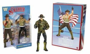 2021 SDCC EXCLUSIVE MATTEL WWE ULTIMATE EDITION SGT. SLAUGHTER -  PREORDER