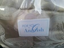 New For You By Ann Gish Romance Taupe Silver King Padded Comforter
