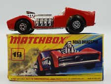 CARS : ROAD DRAGSTER (19) MATCHBOX MODEL MADE IN 1972 (DRMP)