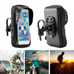 Waterproof Mobile Phone 360° Case Bag Mount Holder for Motorbike Bicycle Bike
