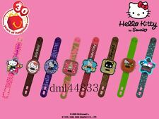 2009 McDonalds MIP Hello Kitty Watches Complete Set of 8, Girls, 3+