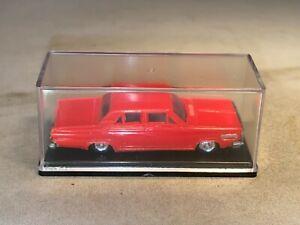 1966 Dodge Dart & Display Case HO Scale EKO Made in Spain Mint