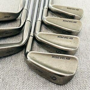 Dunlop DDH Tour Special Iron Set (missing 9-iron) Regular Flex Steel # T501