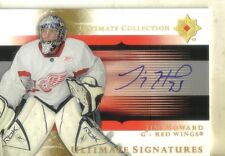 2005-06 ULTIMATE COLLECTION -  SIGNATURES - JIM HOWARD AUTOGRAPHED CARD