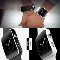 X6 Bluetooth Curved Screen Smart Watch Phone Wristwatch Camera For Android Lot