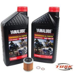 Tusk /Yamalube Oil + Filter Change Kit Yamaha Wr250 R Wr250X 2001-2019 10W-40