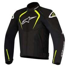 Alpinestars T-Jaws Waterproof Motorcycle Motor Bike Jacket - Black/Fluo