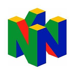 N64 Super Nintendo Sticker Vinyl Decal 2-473