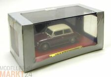 DDR AUTO KOLLEKTION AWZ P70 Limousine rot-braun Modell im Maßstab 1:43 - OVP