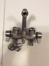 Royal Vintage Wall Mounted Kitchen Faucet Two Handles Deco Country Commercial