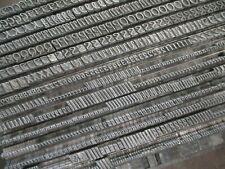 LETTERPRESS PRINTING 18 PT CORONET BOLD METAL TYPE SET