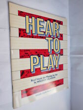 Hear To Play Real Music For Playing by Ear William Salaman PB book music teacher
