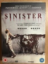 Ethan Hawke SINISTER ~ 2013 Cult Supernatural Horror Film | UK DVD w/ Slipcover
