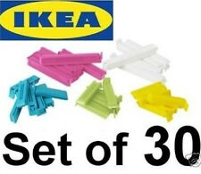 IKEA BEVARA 30 sealing clips food storage bag seal freezer dishwasher safe