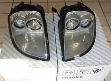 Fiat barchetta Scheinwerfer Satz links + rechts. Naxos Reflektor silber OE FIAT