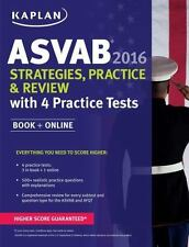 Kaplan Asvab 2016 Strategies, Practice, and Review with 4 Practice Tests: Book +