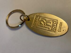 """""""Rolls Royce Owner"""" Key Ring used reusable good condition"""